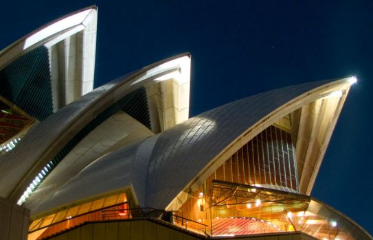 Sydney Opera House by whatevermachine