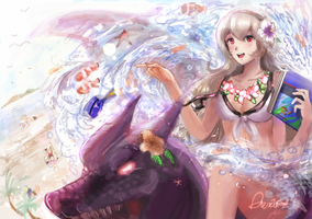 Summer Corrin by kwokshing0905