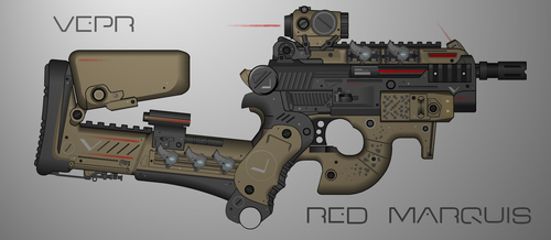 Vepr Relics - Red Marquis by prokhorvlg