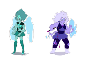 Lapis Fusions by sweetangel-babycakes