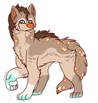 Maned Wolf Adopts  Closed  By Saltandspice-dbyal9j by CattyAngel