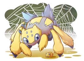 Favorite Bug Type: Galvantula