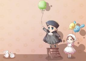 APH: Balloon is stuck by Pepperina