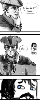 What's Haytham's favorite color? by LaLaFoxtrot