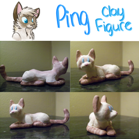Ping Clay Figure by MidnightAlleyCat