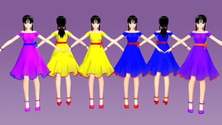 [MODEL DL] - Chichi Tda One Piece Colors by YukinaSaturne