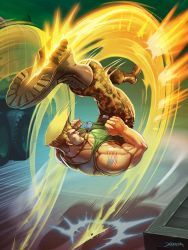 Guile - Street  Fighter. by el-grimlock
