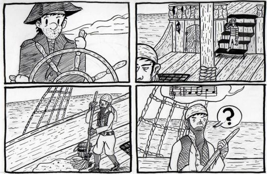 Pirate Comic 2 by Angryviking