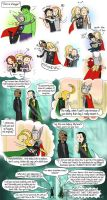 Thor is a hugger by Chocoreaper