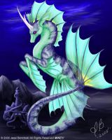 Hippocampus Unicorn SeaCritter by benwhoski