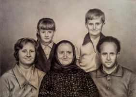 Family portrait by Eluany