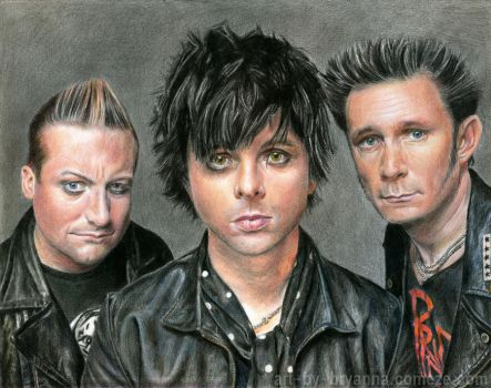 Green Day by ArtByBryanna