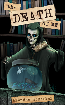 'The Death of Me' - Cover Art by lilyinblue