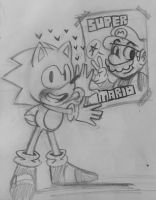 Sonic The Fanboy by Nino5571
