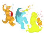 Monsters on Parade by RainyDayMariah