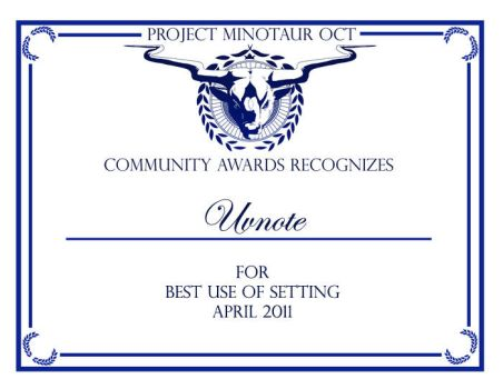 PMOCT CA-Best Use of Setting by ProjectMinotaurOCT