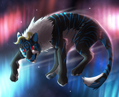 stripes in space by CrookedLynx