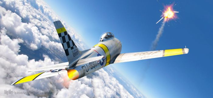 The MiG Alley by rOEN911