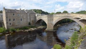 River Tees at Barnard Castle by bobswin