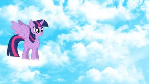 Alicorn Twilight Wallpaper by Kigaroth