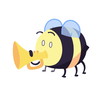 Spanish Bee by 123abcdrawwithme