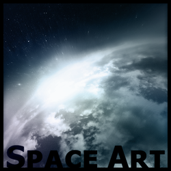 My First Space Art by yoyoman2005g