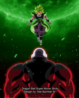 Broly VS Jiren by AdeBa3388