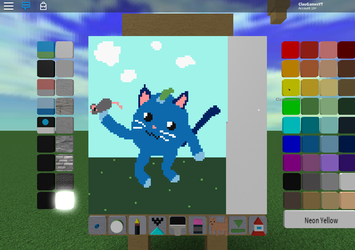 Drawing i made on roblox by ClaudiGames