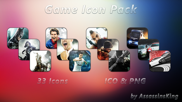 Game Icon Pack by AssassinsKing