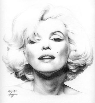 Marilyn Monroe edited by Ethan-Carl