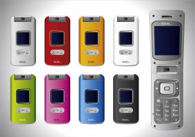 No 129 Vector Cell Phones by rembrandt83