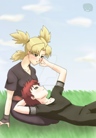 Naruto+Couples: GaaTema by The-PirateQueen