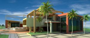 A proposal for a club house by yusuf-Abdelbaky
