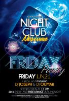 Friday Party Flyer Template by ysfkrk