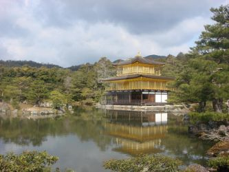 The Golden Pavilion by SinboundPhotography