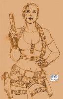 Lara Croft Tomb Raider by edtadeo