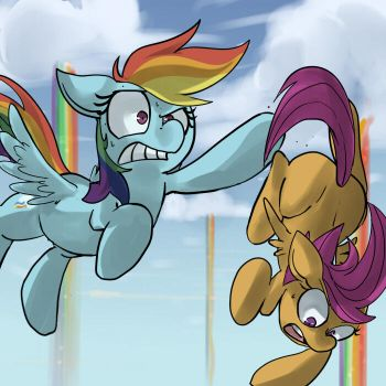 Don't Drop the Scootaloo! by UC77