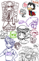 Doodles by princelupin