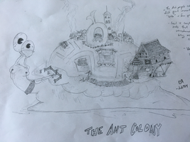 The Ant Colony - And Spike by Jultsy