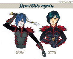 Draw it again - Evan by GR-the-queen