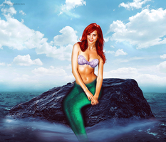 ARIEL (The Little Mermaid) - real life V2 by archiburning