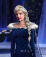 Elsa realistic by rmchaix
