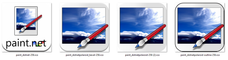 Paint.net icons by steelew