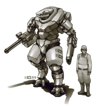 Power Armor - Chaosium by Shimmering-Sword