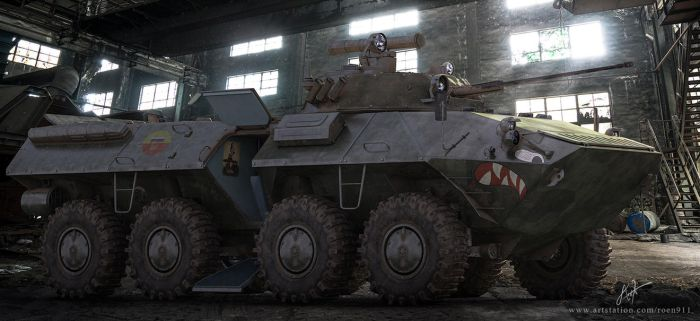 BTR-90 Shark Mouth by rOEN911
