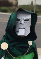 Doctor Doom Close-up by Shenanigans4321