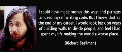 Best Richard Stallman quotes by HackNews by HackNewsEU