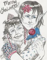 Kishtah and Timian's Christmas by Spools