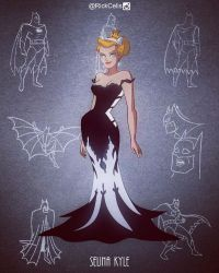 The Cat in the Dress - BTAS style by RickCelis