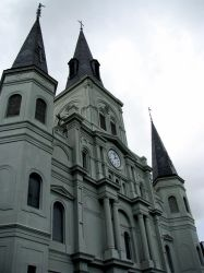 St. Louis Cathedral by Lily-Harlequin